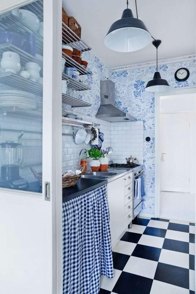 Сині кухні: створюємо і сучасний аристократичний інтерєр в холодній колірній гамі