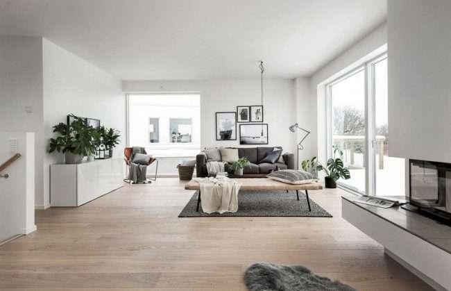 Скандинавський стиль в інтерєрі заміського будинку: комфорт, який понад усе
