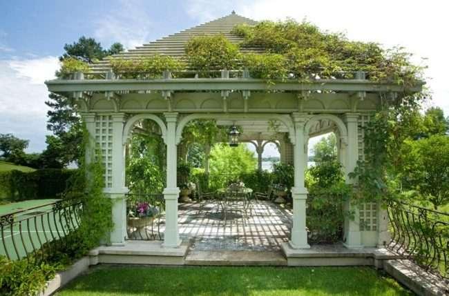 Решітки для альтанки: особливості конструкцій і 75 надихаючих ідей для вашого саду
