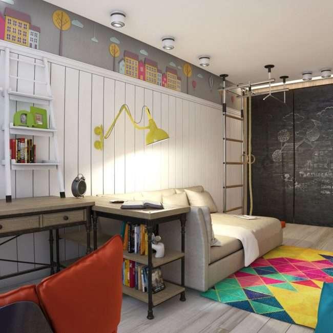 Оформлення спортивного куточка в квартиру: 70+ функціональних ідей для невеликих кімнат