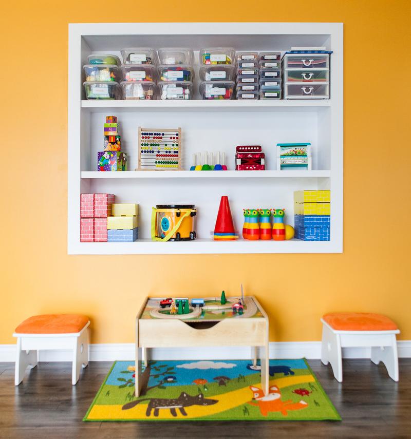 Стелажі і ящики для зберігання іграшок: 60 містких і зручних варіантів для речей малюка