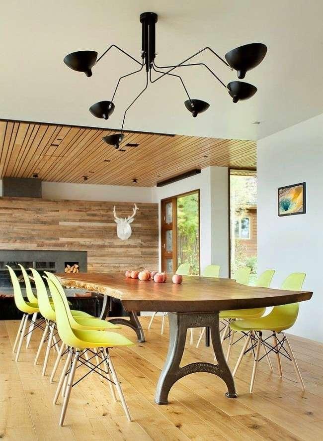 Стіл і стільці для кухні: 40+ ідей організації обідньої простору (фото)