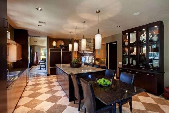 Стіл зі штучного каменю на кухню: втілення доступного аристократизму і 70 елегантних варіантів