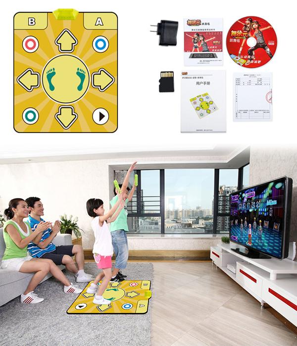 Танцювальний килимок з підключенням до телевізора: принцип роботи та поради з вибору