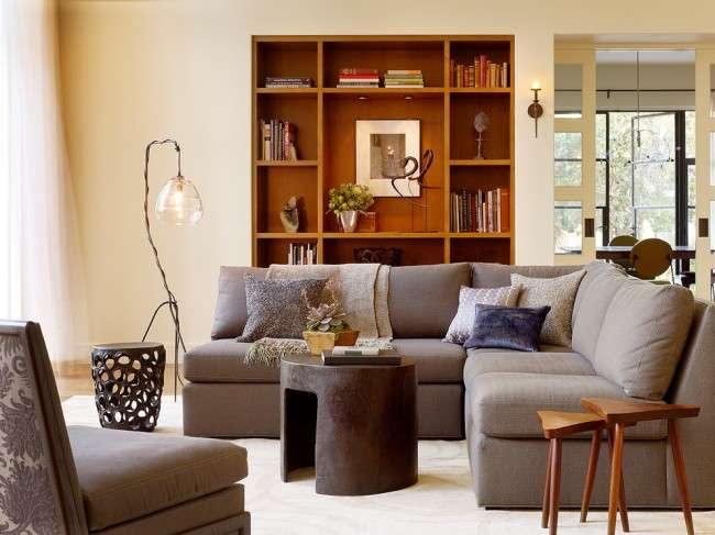 Торшери в інтерєрі вітальні (42 фото): стильне і функціональне освітлення