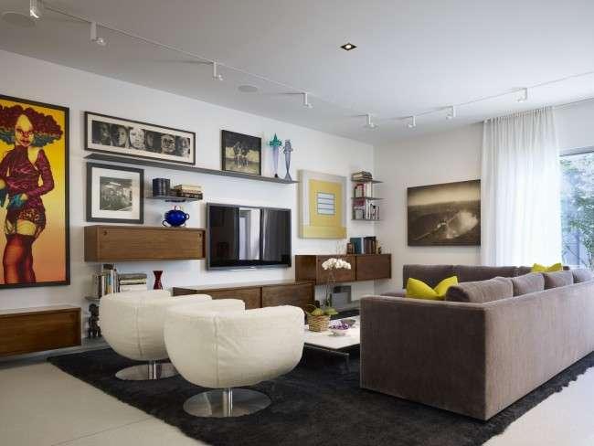 Кутові стінки для вітальні: 40+ містких і функціональних рішень для комфортного інтерєру