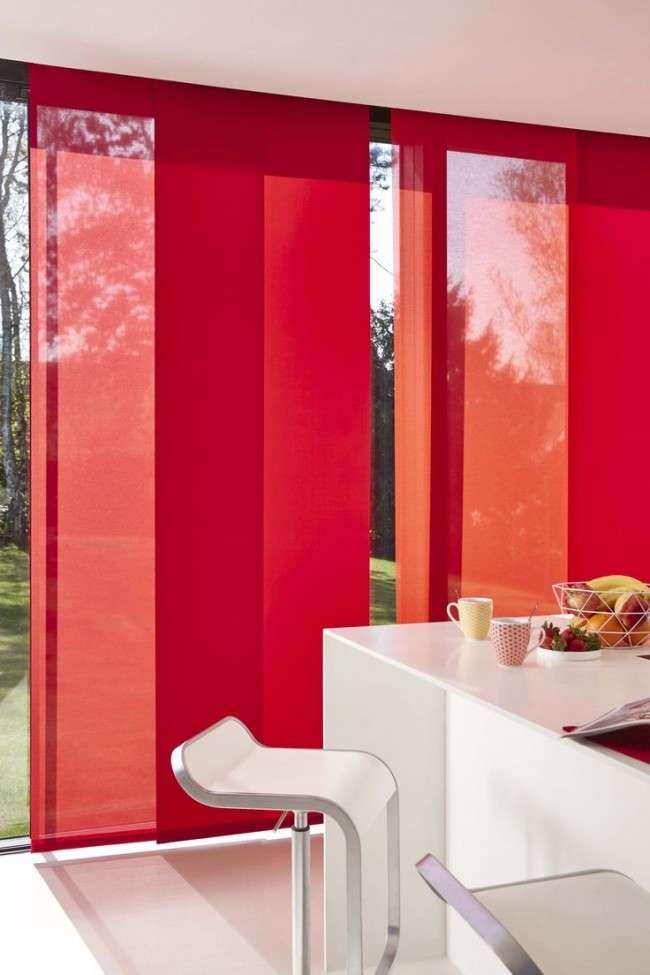 50 Ідей японських штор: східне слово в оформленні вікон (фото)