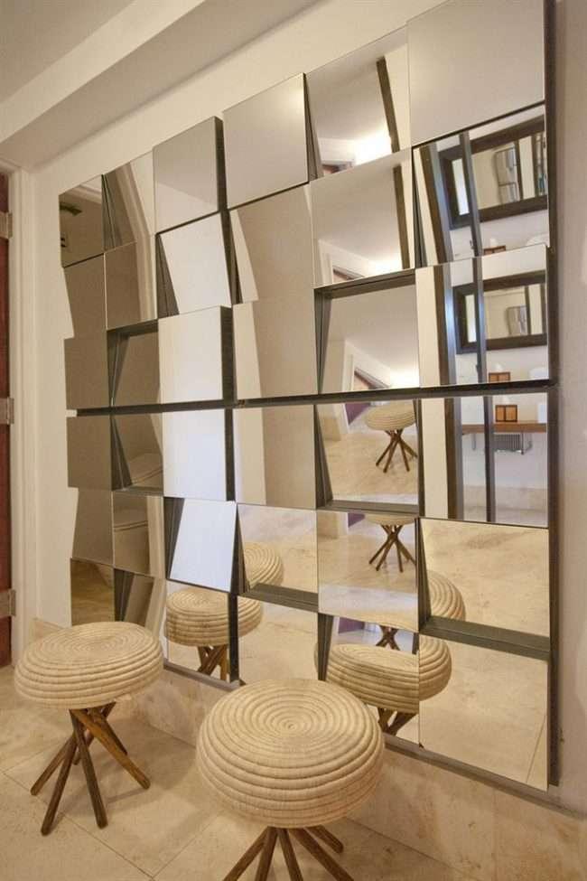 Як органічно запровадити в інтерєр дзеркальне панно: фотоидеи і обрані рішення