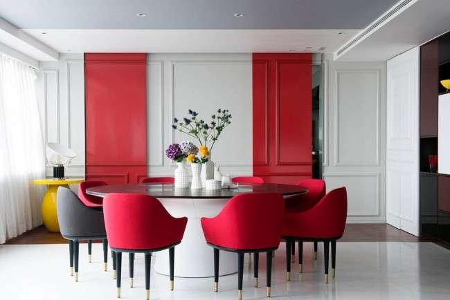 З яким кольором поєднується червоний  75 приголомшливих ідей і надихаючих  колірних схем (фото) a0ef21fada1fa