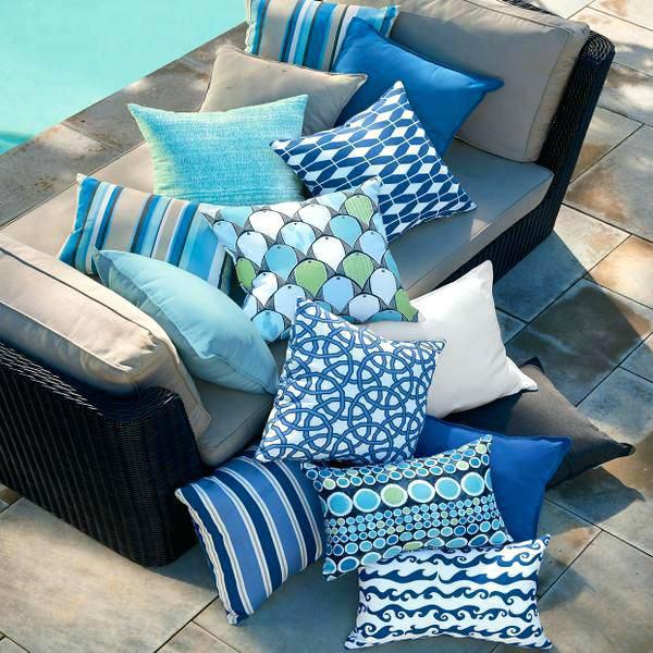 Як зшити подушки для садових меблів