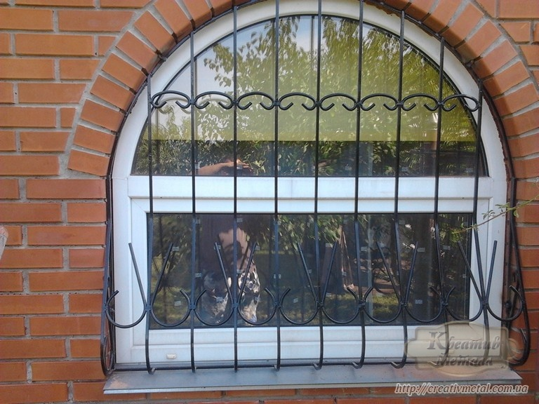Як вибрати металеву решітку на вікна