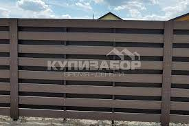 Паркани з терасної дошки та штахетник з ДПК в Києві